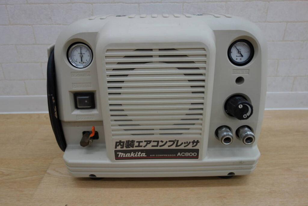 中古品 マキタ 内装エアコンプレッサ AC800(2018年9月買取)