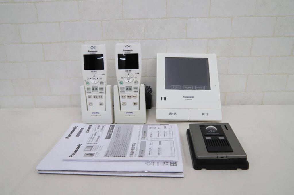 中古品 パナソニック テレビドアホン ワイヤレスモニター付き 子機2台 VL-MW500 VL-V570L VL-W607 (2019年3月買取)