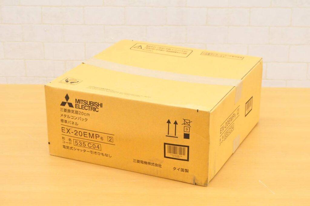 未使用未開封 三菱 20センチ 換気扇 メタルコンパック EX-20EMP6(2019年8月買取)