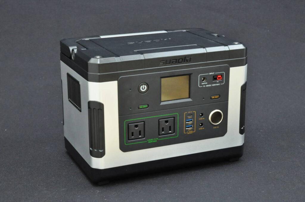 suaoki ポータブル電源 G500 137700mAh/500Wh(2019年12月買取)