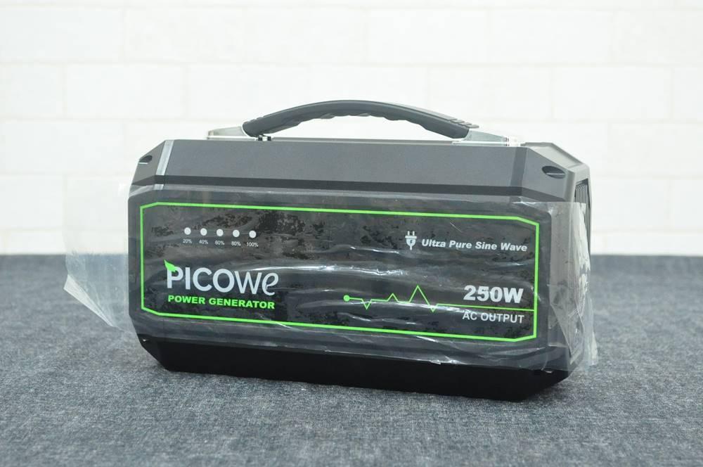 PICOWe ポータブル電源 67500mAh 3.7V/250Wh(2019年10月買取)